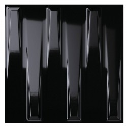 Dutton Black Gloss 25x25