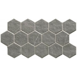 Muse Hex Grey 26,5x51
