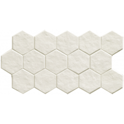 Muse Hex White 26,5x51