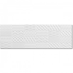 Sinan White Brillo Decor 30x90